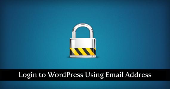 login-to-wordpress-using-email-address